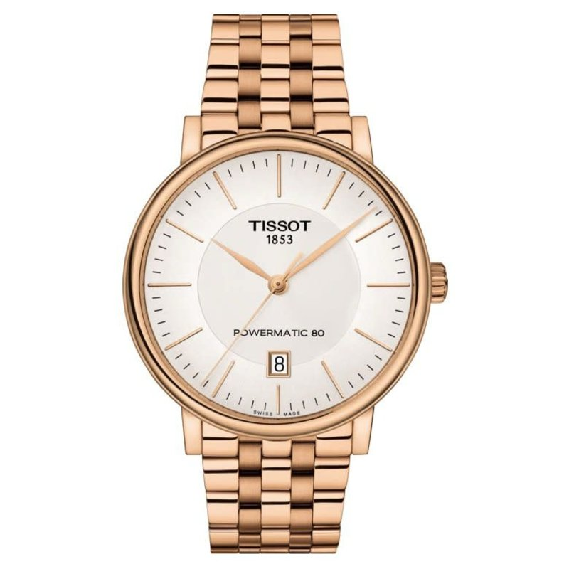 Tissot Tissot Carson Premium Powermatic 80 Mens Rose Tone Watch