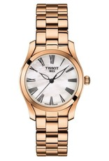 Tissot Tissot T-Wave Ladies Rose Tone with Mother of Pearl Dial Watch