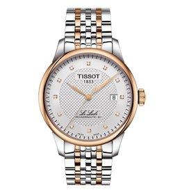 Tissot Tissot Le Locle Powermatic 80 Mens Tone Tone Diamond Dial Watch