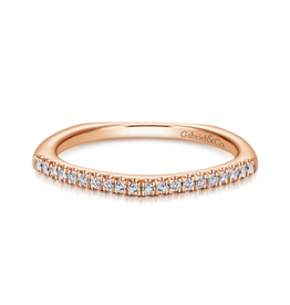 Gabriel & Co Gabriel & Co 14K Rose Gold Fashion Diamond Ring