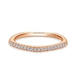 Gabriel & Co Gabriel & Co 14k Rose Gold Fashion Ladies Ring