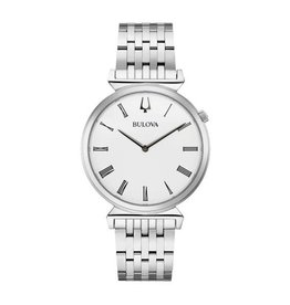 Bulova Bulova Classic Ladies Silver Tone with Roman Numeral Dial Watch
