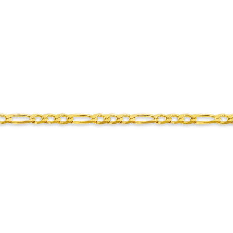 """10K Yellow Gold (3.0mm) Figaro Chain (16"""" - 24"""")"""