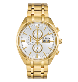 Bulova Bulova Classic Mens Surveyor Chronograph Gold Tone Watch