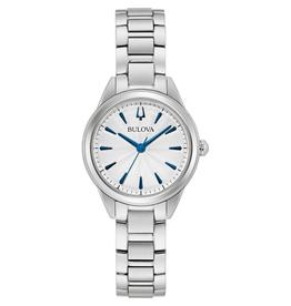 Bulova Bulova Ladie's Silver Dial Watch 96L285