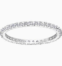 Swarovski Swarovski Vitorre Ring, White, Rhodium Plated