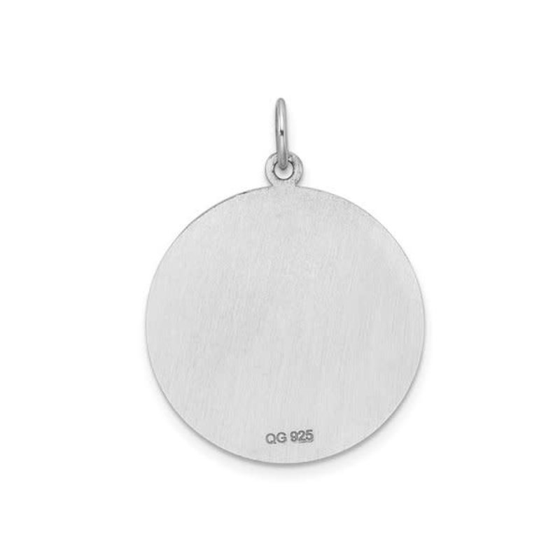 Sterling Silver (22mm) Medical ID Pendant