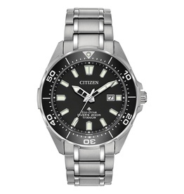 Citizen Citizen Promaster Diver Men's Eco Drive Super Titanium Rotating Bezel Watch