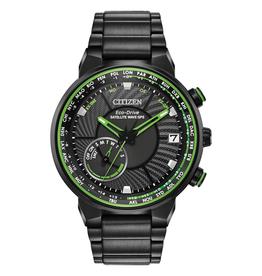 Citizen Citizen Satellite Wave GPS Freedom Men's Eco Drive Black Tone Watch