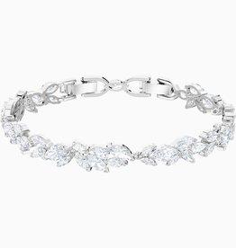 Swarovski Swarovski Louison Bracelet, White, Rhodium Plated