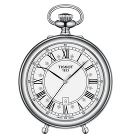 Tissot Tissot Stand Alone Silver Tone Pocket Watch