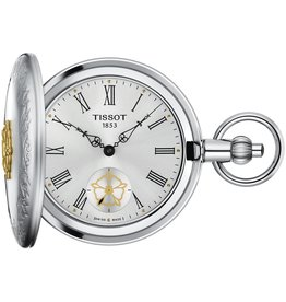 Tissot Tissot Double Savonnette Mechanical Two Tone Pocket Watch