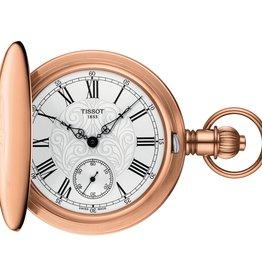 Tissot Tissot Savonnette Mechanical Rose Tone Pocket Watch