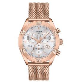 Tissot Tissot PR 100 Sport Chick Chronograph Ladies Rose Tone Watch