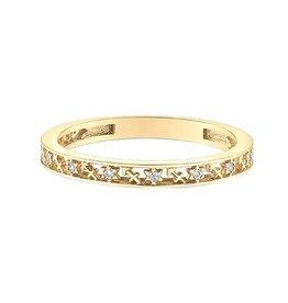 10K Yellow Gold Zodiac (Sagittarius) Diamond Ring