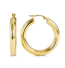 10K Yellow Gold 29mm Hoop Earrings