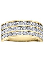 10K Yellow Gold (0.50ct) Illusion Set Diamond Ring