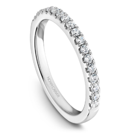 Noam Carver Noam Carver 18K White Gold (0.26ct) Diamond Band