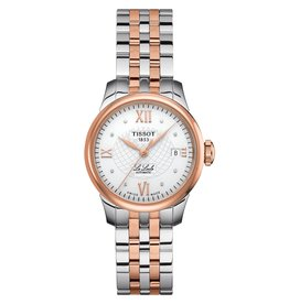 Tissot Tissot Le Locle Automatic Ladies Two Tone Diamond Dial Watch