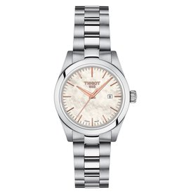 Tissot Tissot T-My Lady Silver Tone Mother of Pearl Dial Watch