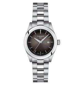 Tissot Tissot T-My Lady Silver Tone Black Dial Watch