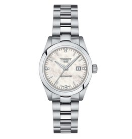 Tissot Tissot T-My Lady Automatic Silver Tone Diamond and Mother of Pearl Dial Watch