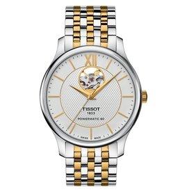 Tissot Tissot Tradition Powermatic 80  Open Heart Men's Two Tone Watch