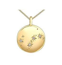 10K Yellow Gold (0.01ct) Diamond Scorpio Zodiac Pendant