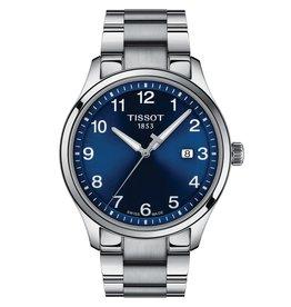 Tissot Tissot Gent XL Classic Men's Silver Tone Blue Dial Watch