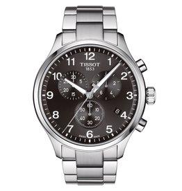 Tissot Tissot Chrono XL Classic Men's Silver Tone Black Dial Watch
