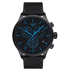 Tissot Tissot Chrono XL Men's Black Tone Black Dial Black Fabric Strap Watch