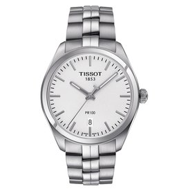 Tissot Tissot PR 100 Men's Silver Tone Watch