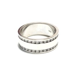 14K White Gold (1.03ct) Men's Diamond Ring