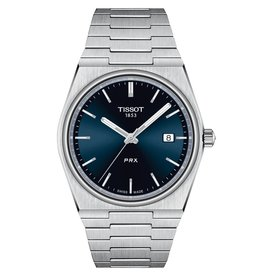 Tissot Tissot PRX Men's Silver Tone Blue Dial Watch