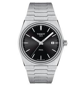 Tissot Tissot PRX Men's Silver Tone Black Dial Watch