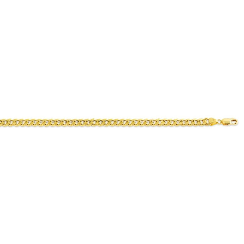 """10K Yellow Gold (5.5mm) Hollow Miami Cuban Link Chain (20"""" - 22"""")"""
