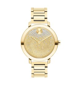 Movado Bold Evolution Ladies Gold Tone Watch
