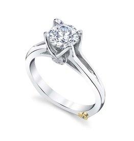 Mark Schneider Mark Schneider Exquisite 14K White Gold Diamond Semi Mount Engagement Ring