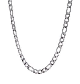 Steelx Steelx Stainless Steel 5.8mm Figaro Chain