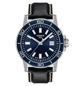 Tissot Tissot Supersport Men's Silver Tone Blue Dial Watch