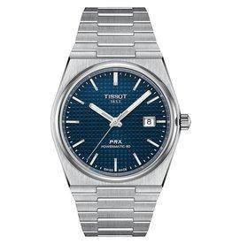 Tissot Tissot PRX Powermatic 80 Men's Silver Tone Blue Dial Watch