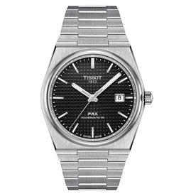 Tissot Tissot PRX Powermatic 80 Men's Silver Tone Black Dial Watch