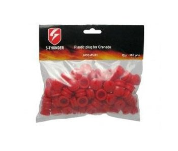 S Thunder Plastic Plug Pack 100ct