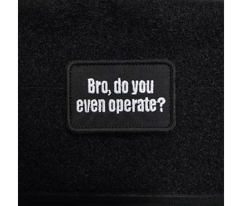 NextGen Warfighter Bro, Do You Even Operate?