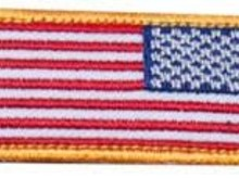 PTS US Mini Flag Reverse