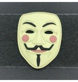 Tactical Outfitters Tactical Outfitters Guy Fawkes Mask 3D PVC Morale Patch