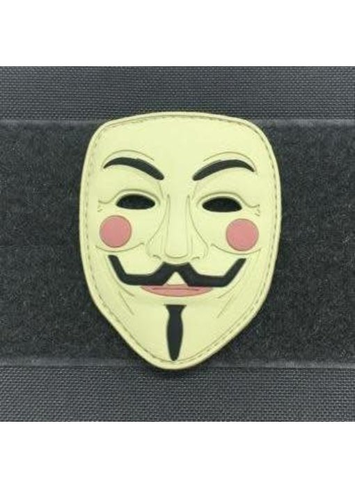 Tactical Outfitters Guy Fawkes Mask 3D PVC Morale Patch