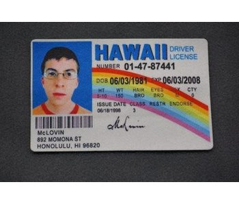Tactical Outfitters McLovin Morale Patch