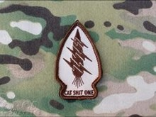 Orca Industries Orca Industries CatShitOne Unit Patch, Desert