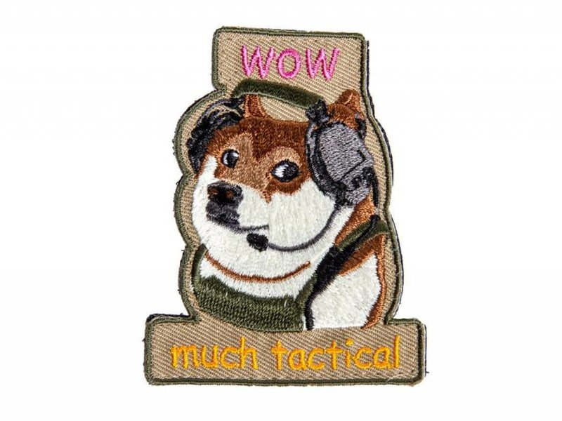 Amped Amped Tactical Doge Patch
